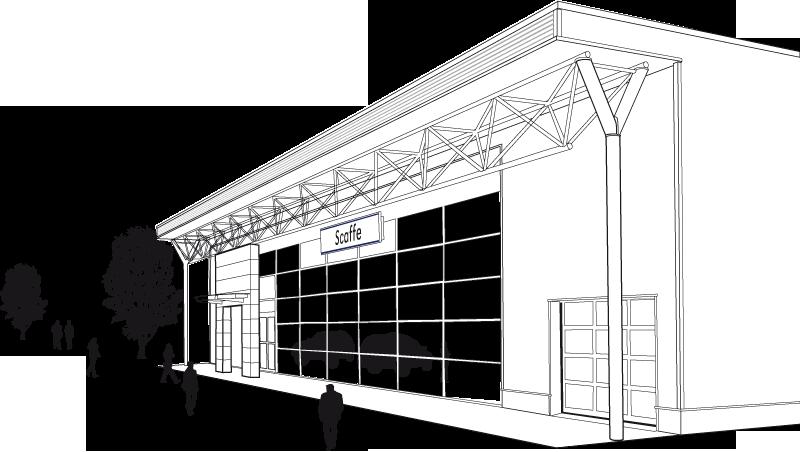 scaffe-garage